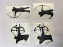 ARC Sticker Bogenschützen