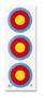 JVD FITA Target Face 3x20