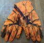 Orange Camo Handschuhe