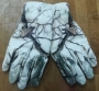 Weiß Camo Handschuhe
